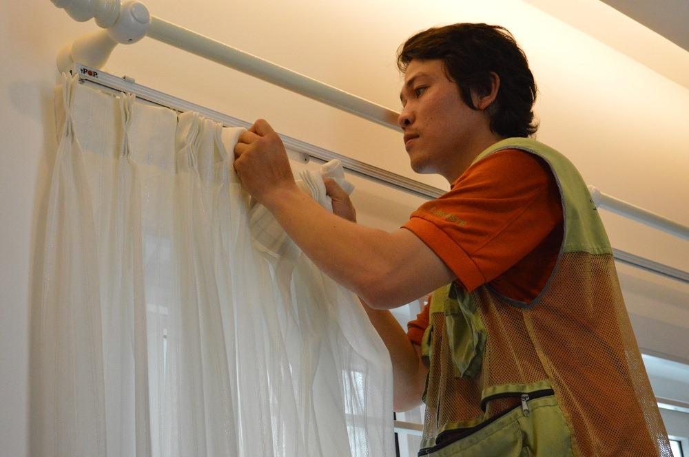 Dịch vụ giăt rèm cửa Tại Đà Nẵng